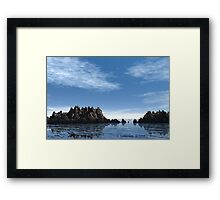 Forbidden Reef Framed Print