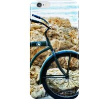 Beach Cruiser - Bicycle Art By Sharon Cummings iPhone Case/Skin