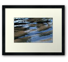 Reflefctions on Shallowness... Framed Print