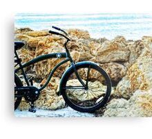 Beach Cruiser - Bicycle Art By Sharon Cummings Metal Print
