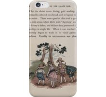 The Queen of Pirate Isle Bret Harte, Edmund Evans, Kate Greenaway 1886 0030 In the Mud iPhone Case/Skin