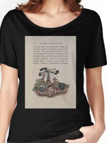 The Queen of Pirate Isle Bret Harte, Edmund Evans, Kate Greenaway 1886 0030 In the Mud Women's Relaxed Fit T-Shirt