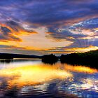 TUPPER LAKE SUNSET  by MIKESANDY