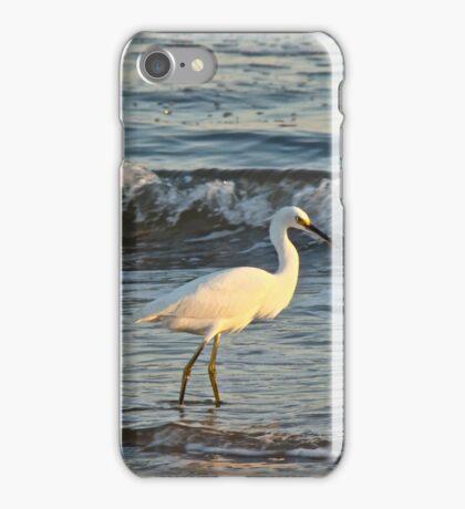 Snowy Egret - Egretta thula iPhone Case/Skin