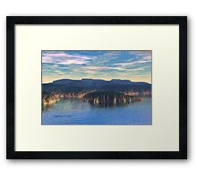 Northern Cove Framed Print