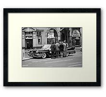 Vintage American car, 1976 Framed Print
