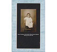 John P. Lapham Photographic Print