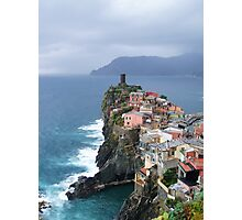 Vernazza in November Photographic Print