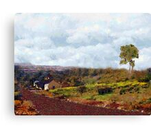 South African Primitive Canvas Print