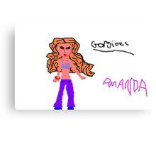 Amanda #5 Canvas Print