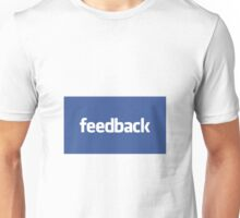 feedback - blue Unisex T-Shirt