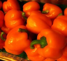 Peppers Plump and Pretty by RC deWinter
