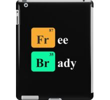 Free Brady - Periodic table iPad Case/Skin