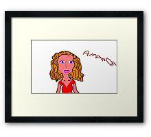 Amanda #7 Framed Print