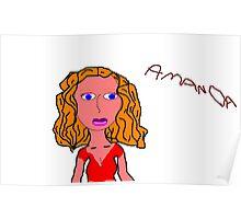 Amanda #7 Poster