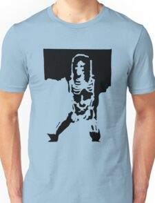 Skele against the wall Unisex T-Shirt