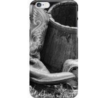 Boots and Whiskey iPhone Case/Skin