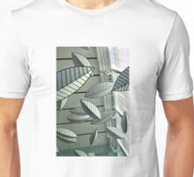 Abstract Leaves Unisex T-Shirt