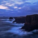 Cliffs Of Eshaness by Gary Buchan