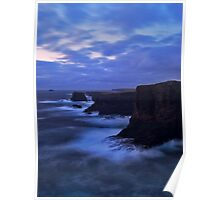Cliffs Of Eshaness Poster