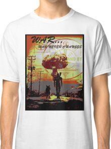 Vault dweller & Dogmeat Classic T-Shirt