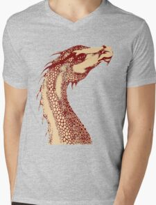 Petoskey Dragon Mens V-Neck T-Shirt