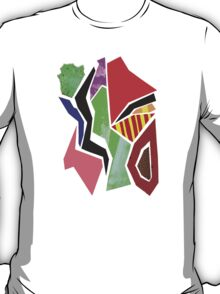 Mixed Media Abstract Collage I T-Shirt