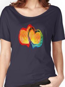 Lovey Dovey Hearts Women's Relaxed Fit T-Shirt