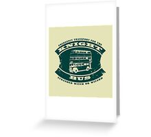 The Knight bus Greeting Card