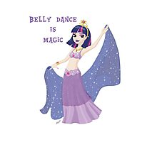 Belly Dance Is Magic Photographic Print