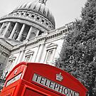 London phone box by Jeanne Horak-Druiff