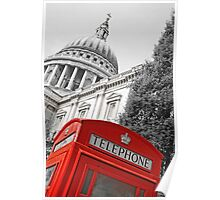 London phone box Poster