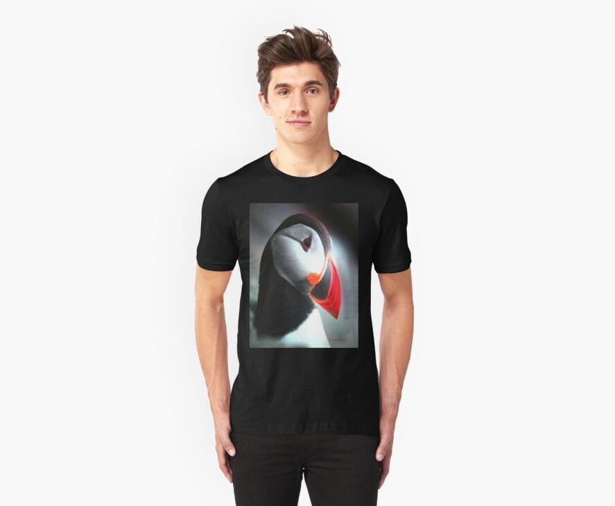 The Puffin Tee by Pam Moore