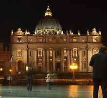St Peter's Square at Night I by Martin Sutton