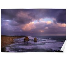 two rocks,Great Ocean Road,Victoria Poster