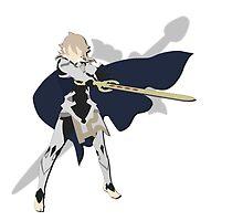 Fire Emblem if / Fates - Minimalist Kamui by AlfredKamon