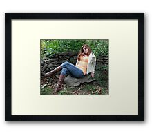 Come on baby....lets heat up the woods  Framed Print