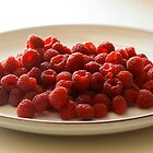 Rasberries  by richhillphoto