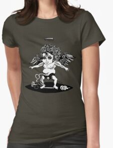 Cosmic the Space Cherub Womens Fitted T-Shirt