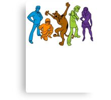 Scooby Gang Canvas Print