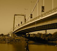 The Tuti bridge... Sudan by HaroonNichol