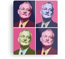 Bill Murray Metal Print