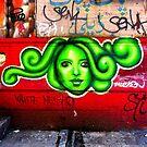 oh beautiful green medusa by ShellyKay