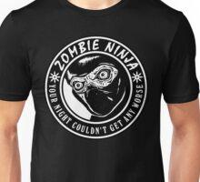 Zombie Ninja Unisex T-Shirt