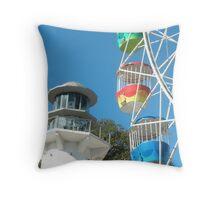 Luna Park Throw Pillow
