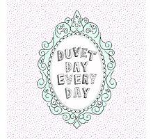 Duvet Day Photographic Print