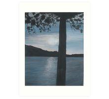 Lake Shore Park Art Print