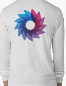 Bisexual Pride Abstract Long Sleeve T-Shirt