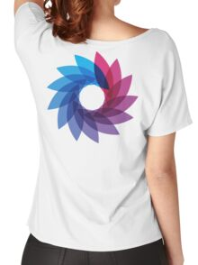 Bisexual Pride Abstract Women's Relaxed Fit T-Shirt