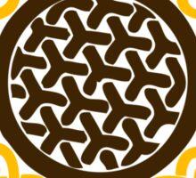 Celtic Sunflower Sticker